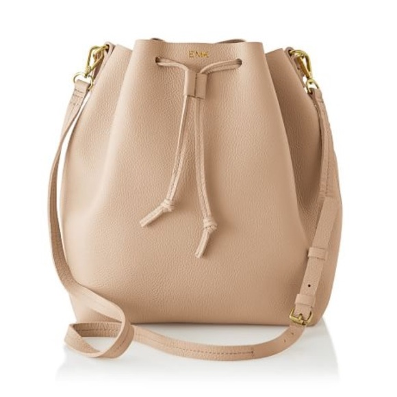 Mark & Graham Handbags - Mark and Graham Daily Leather Bucket Bag